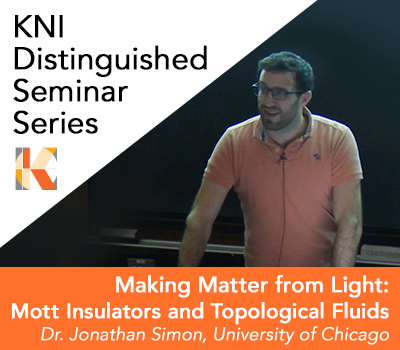 Jonathan Simon, KNI Distinguished Seminar - April 9, 2019
