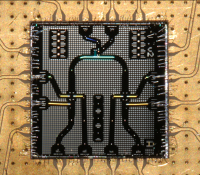 """Magic Cavity"" superconducting quantum circuit (SQC) chip"